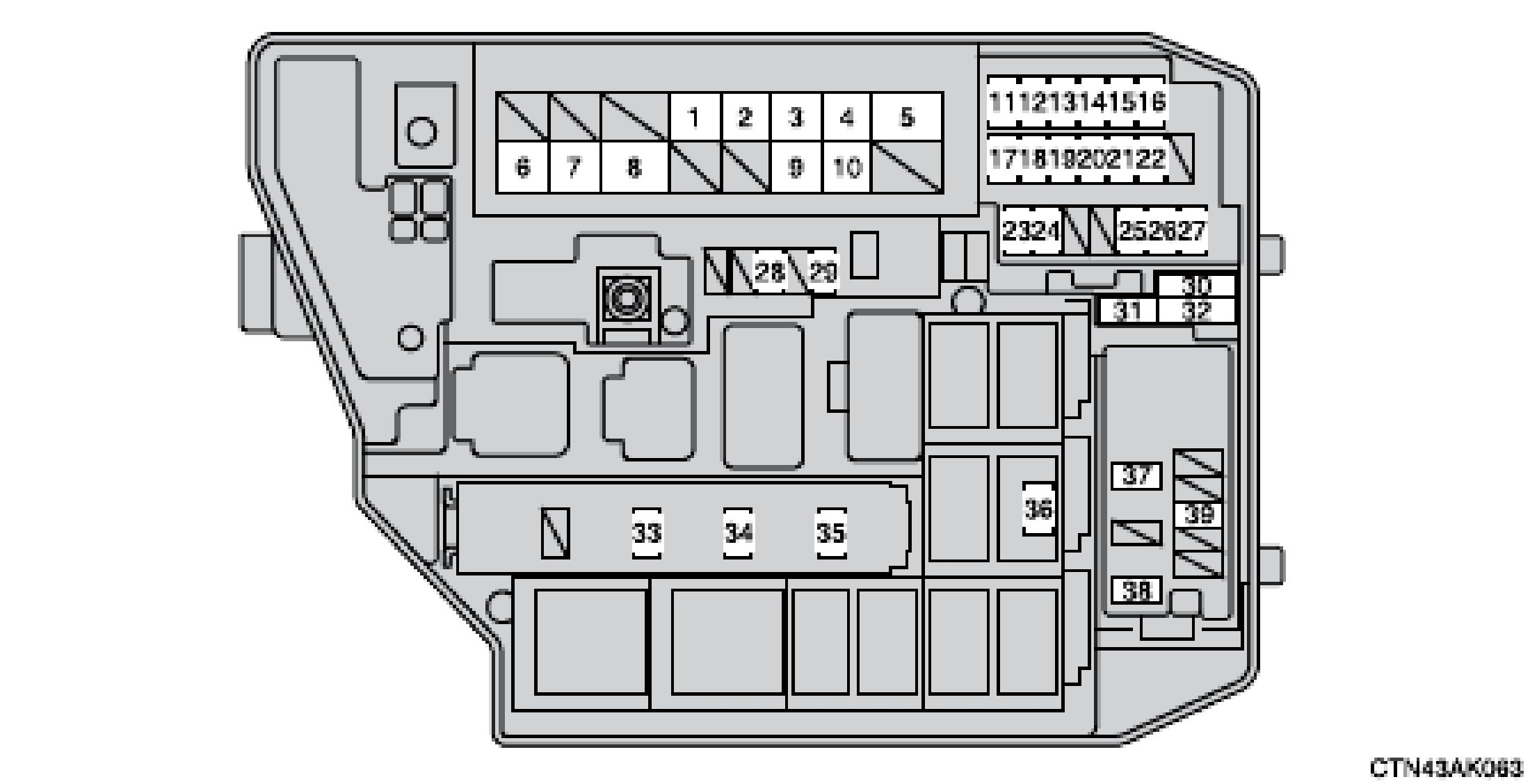 [DIAGRAM_5NL]  MX_5691] Fuse Box Location Furthermore 2003 Toyota Highlander Fuse Box  Diagram Free Diagram | 2006 Highlander Hybrid Fuse Box Location |  | Wida Weasi Iosco Gue45 Mohammedshrine Librar Wiring 101