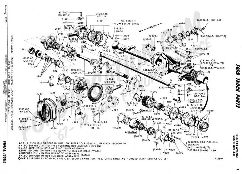 Db 1396  Dana 44 Front Axle Diagram Schematic Wiring