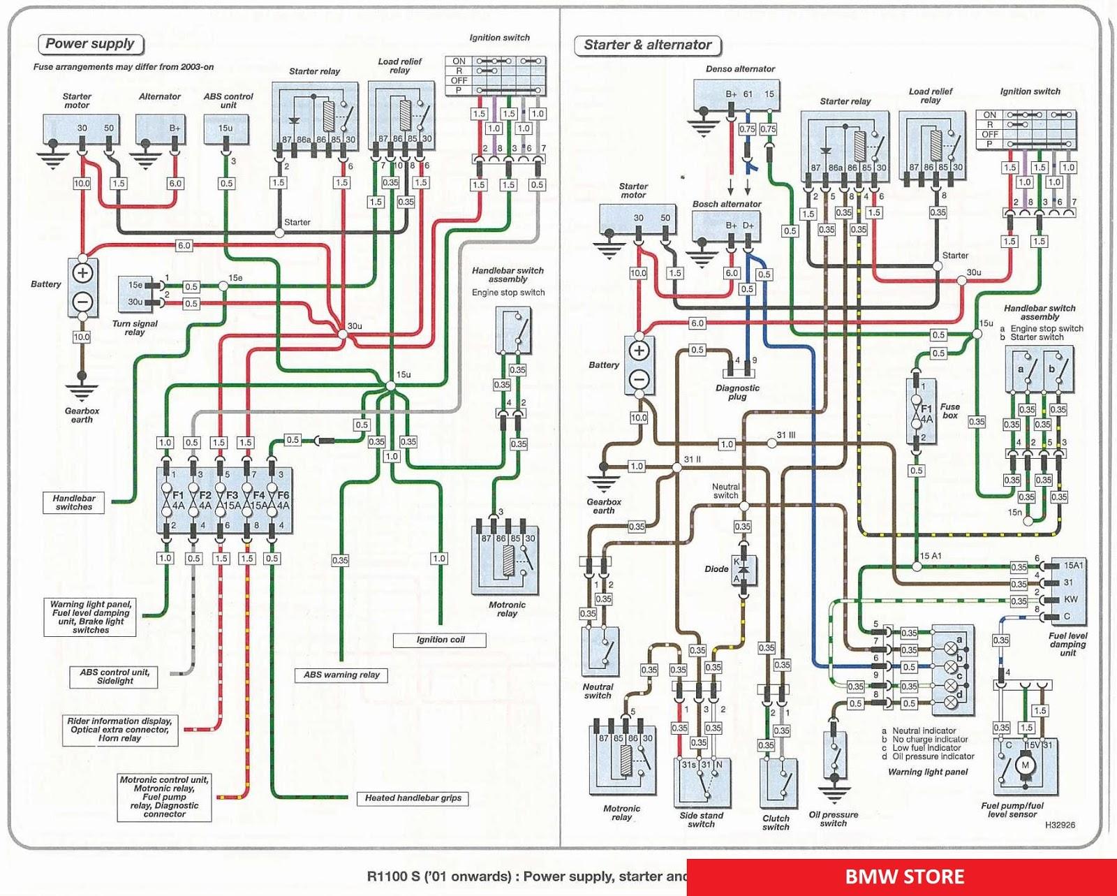bmw r65 wiring diagram zd 4266  bmw r1100s wiring diagrams  zd 4266  bmw r1100s wiring diagrams