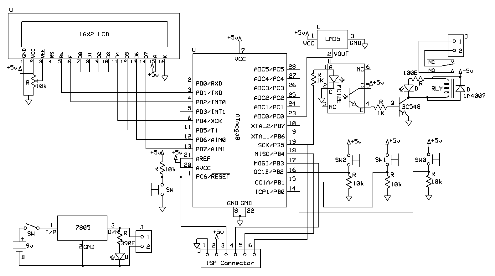 Miraculous Fan Control Temperature Using Sensor Lm35 Circuit Schematic Basic Wiring Cloud Cranvenetmohammedshrineorg