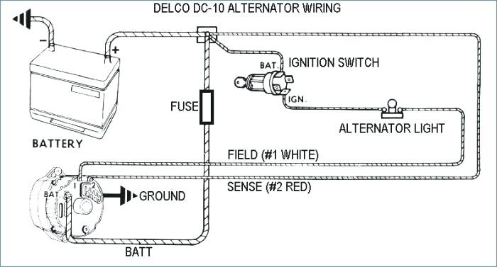 3 wire alternator wiring diagram ford  toggle switch