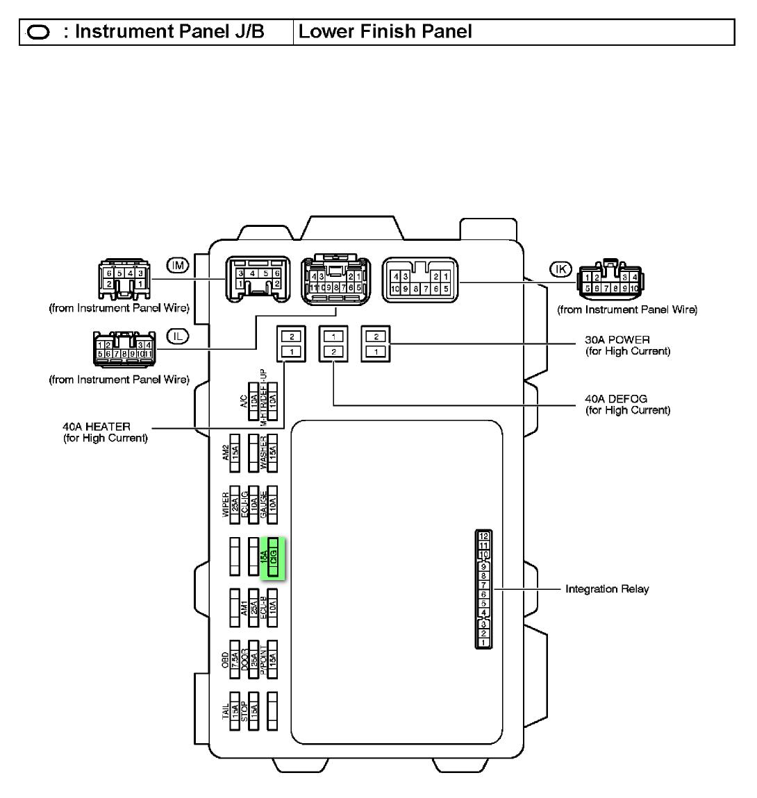 Fuse Box For 2005 Toyota Matrix Wiring Diagram User User Emilia Fise It