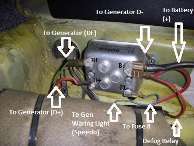 vw beetle alternator regulator wiring generator de 1061  voltage regulator wiring diagram furthermore 1971 vw  voltage regulator wiring diagram