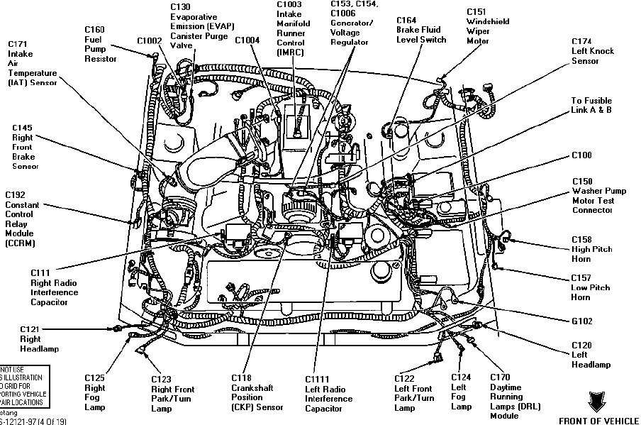 1997 mustang v6 engine diagram - wiring diagrams auto tame-board -  tame-board.moskitofree.it  moskitofree.it