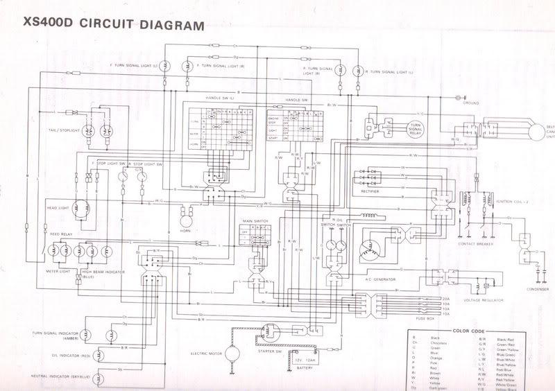 1983 yamaha maxim 750 wiring diagram rl 2999  1977 yamaha 400 xs wiring diagram download diagram  1977 yamaha 400 xs wiring diagram