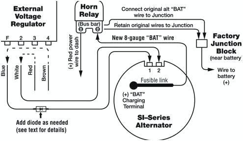 Oz 3418 Wiring Chevy Alternator Free Diagram