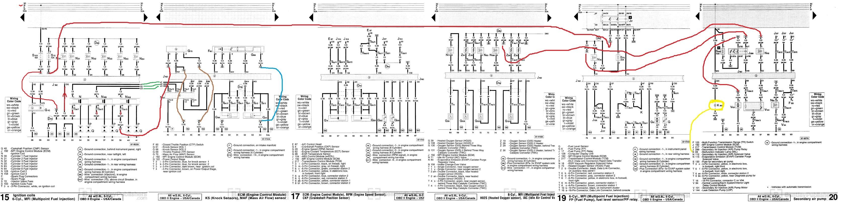 Audi A6 C5 Radio Wiring Diagram