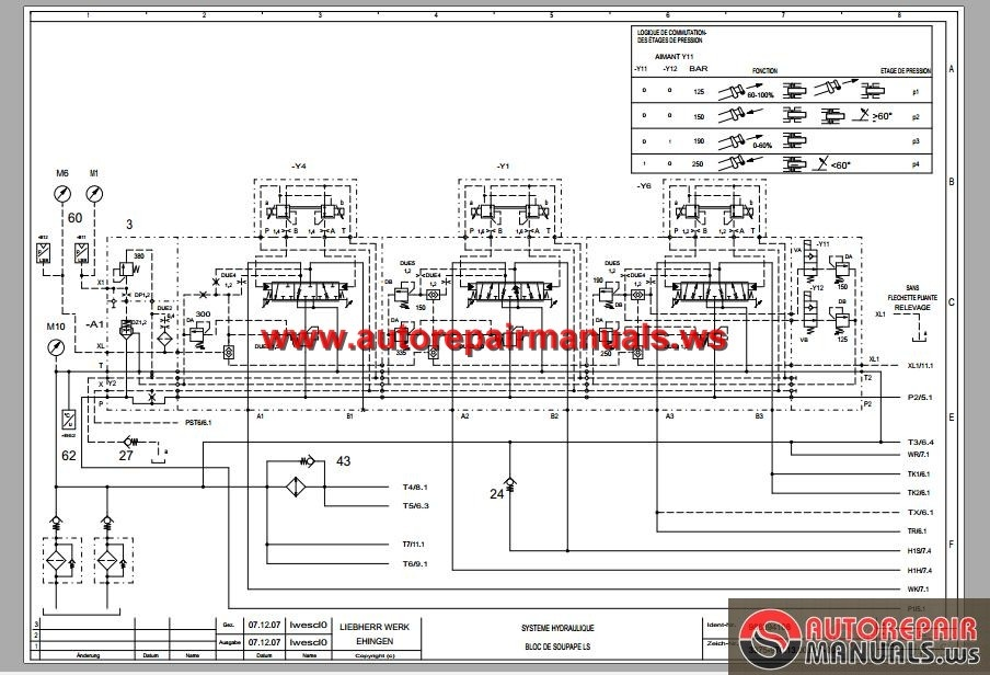 Gantry Crane Wiring Diagram