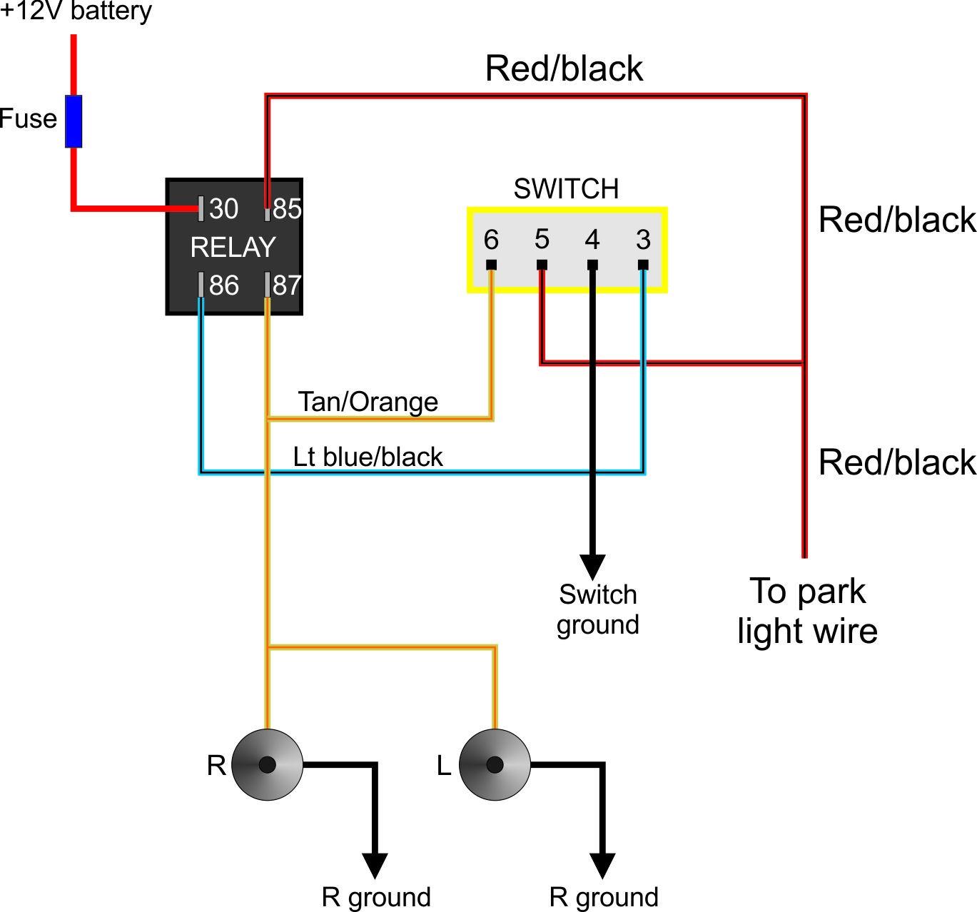 Awesome Ford Wiring Diagrams Automotive Basic Electronics Wiring Diagram Wiring Cloud Lukepaidewilluminateatxorg