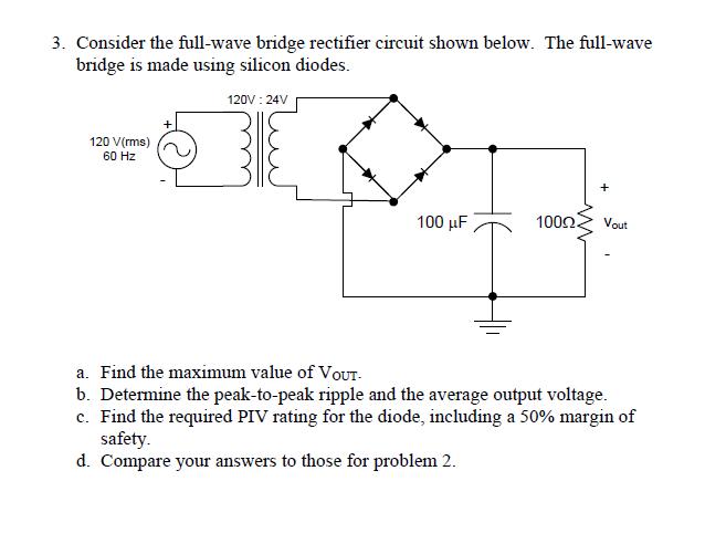 Tremendous Bridge Rectifier Circuit Output Voltage Basic Electronics Wiring Wiring Cloud Rineaidewilluminateatxorg