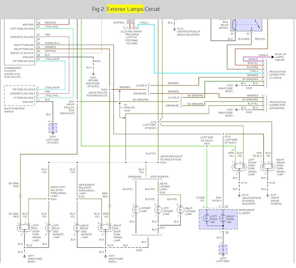 Fine 03 Dodge Ram 2500 Trailer Wiring Diagram Basic Electronics Wiring Wiring Cloud Cranvenetmohammedshrineorg