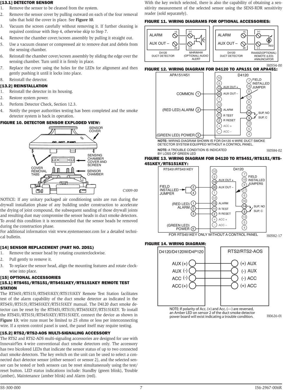 Sm 9605 System Sensor D4120 Wiring Diagram Schematic Wiring