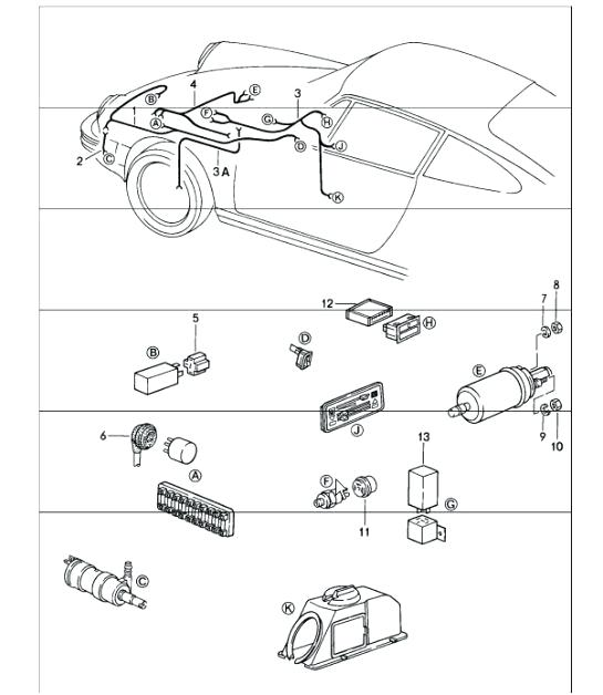 Ca 5823  Porsche Headlight Wiring Free Diagram