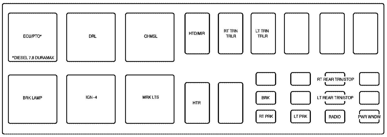 1998 Gmc C7500 Wiring Diagram