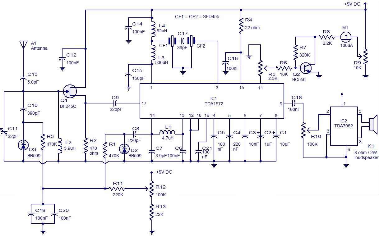 Strange Am Radio Receiver Using Fm Ic Chip Circuit Diagram Wiring Diagram B2 Wiring Cloud Picalendutblikvittorg