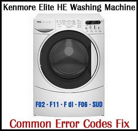 Miraculous Kenmore Elite He3 Washing Machine Error Codes Fix Wiring Cloud Rineaidewilluminateatxorg