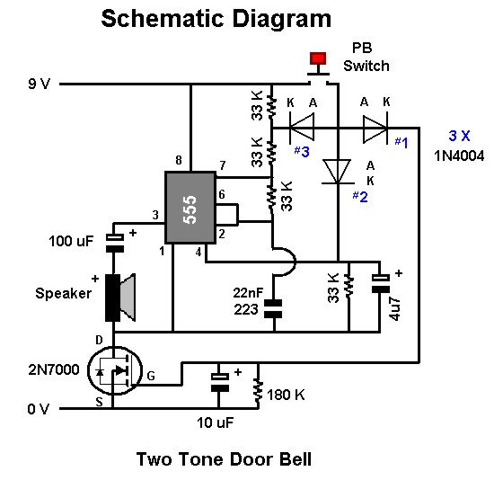 Strange Electronic Doorbell Circuit Electronic Doorbell Or Shop Entry Wiring Cloud Cranvenetmohammedshrineorg
