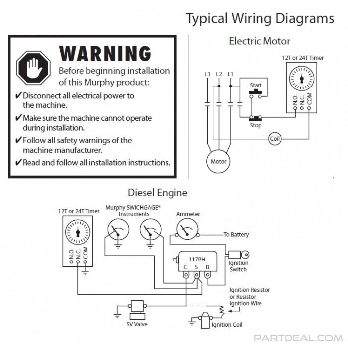 murphy switch wiring diagram - Wiring Diagram