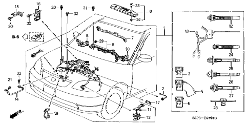 Terrific Honda Engine Wire Harness Basic Electronics Wiring Diagram Wiring Cloud Orsalboapumohammedshrineorg