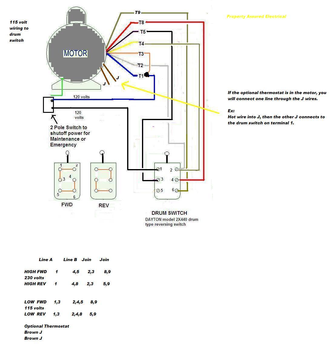 Single Phase 208v Wiring Diagram