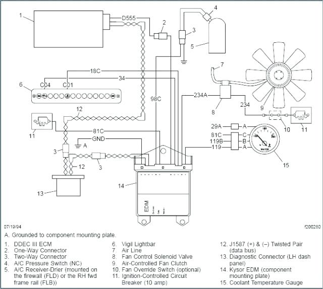 za6404 wiring also detroit wiring diagram 12 pin