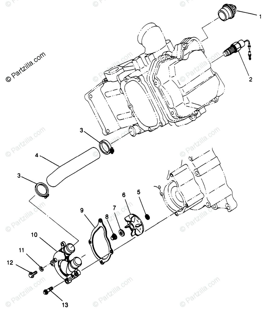 Br 2050  1995 Polaris 300 4x4 Wiring Diagram Free