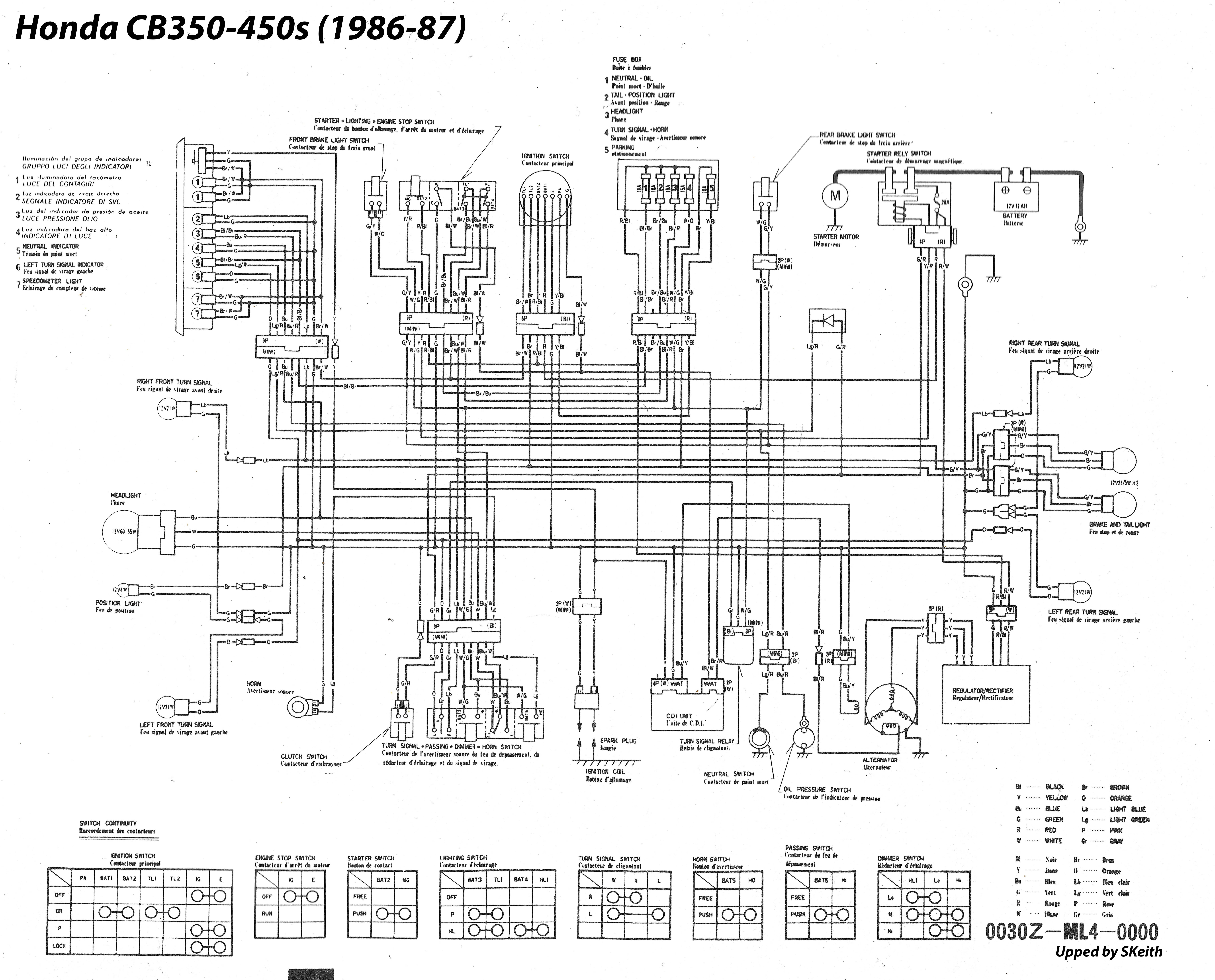 Honda Cb 350 Wiring Diagram 1969 Cyclone Wiring Diagram Hondaa Accordd Yenpancane Jeanjaures37 Fr