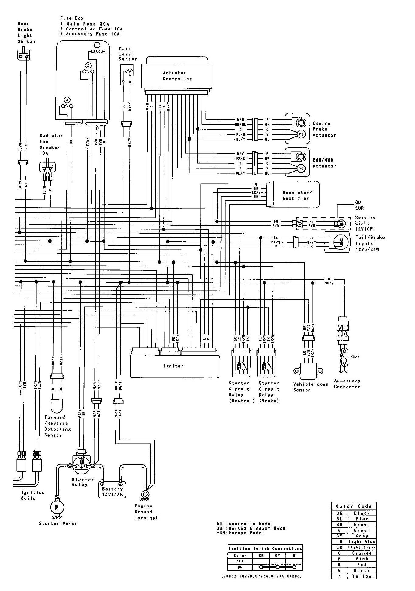 YC_7437] Kawasaki Ninja Zx6R Junction Box Internal Circuit Wiring DiagramInrebe Hyedi Mohammedshrine Librar Wiring 101
