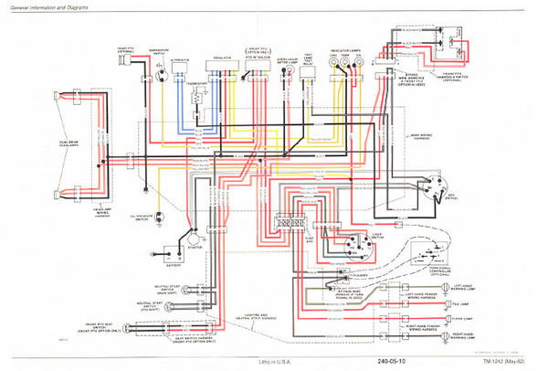 john deere 1010 wiring schematic wo 4615  john deere 60 tractor wiring diagram also john deere  john deere 60 tractor wiring diagram