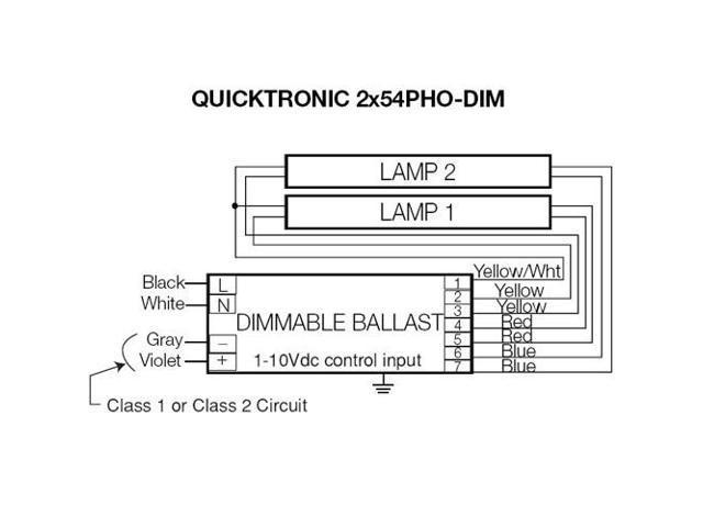 Osram Sylvania Ballast Wiring Diagram - Wiring Diagram