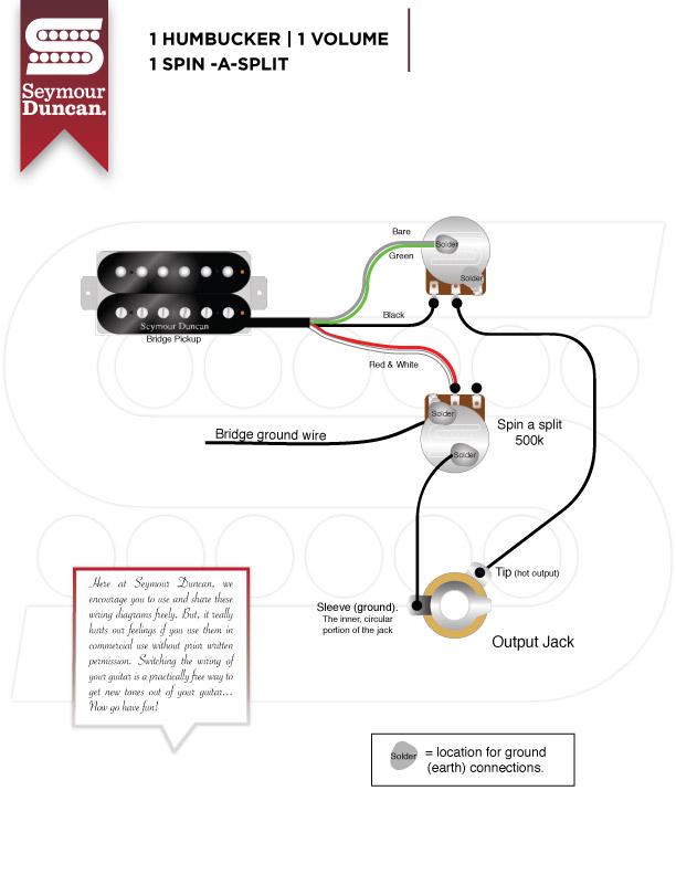 Wiring Diagram On Seymour Duncan Single