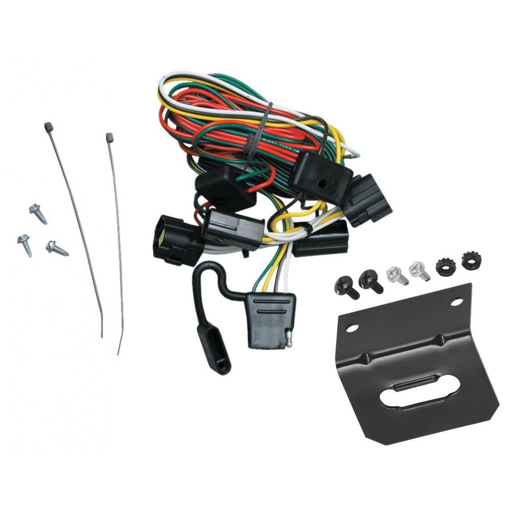 Peachy Trailer Wiring And Bracket For 98 02 Honda Passport 98 00 Isuzu Wiring Cloud Itislusmarecoveryedborg