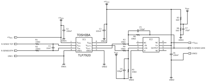 Swell Application Circuit Current Sensing Of The Tlp7920 Isolation Wiring Cloud Filiciilluminateatxorg