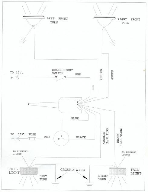 golf cart wiring diagram for brake light ro 1756  wiring diagram the wire from the flasher goes to the turn  ro 1756  wiring diagram the wire from