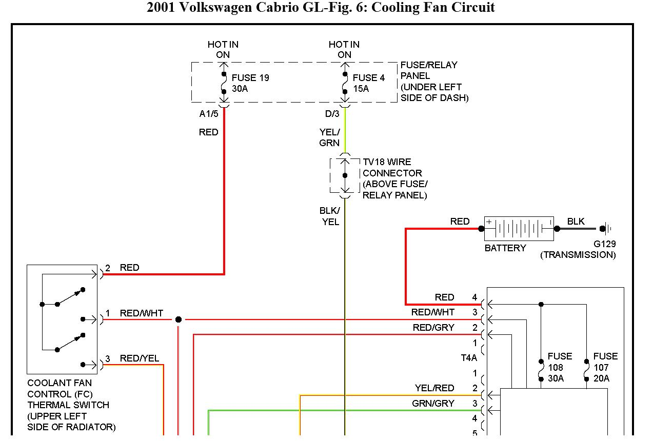 Mk4 Golf Fan Wiring Diagram