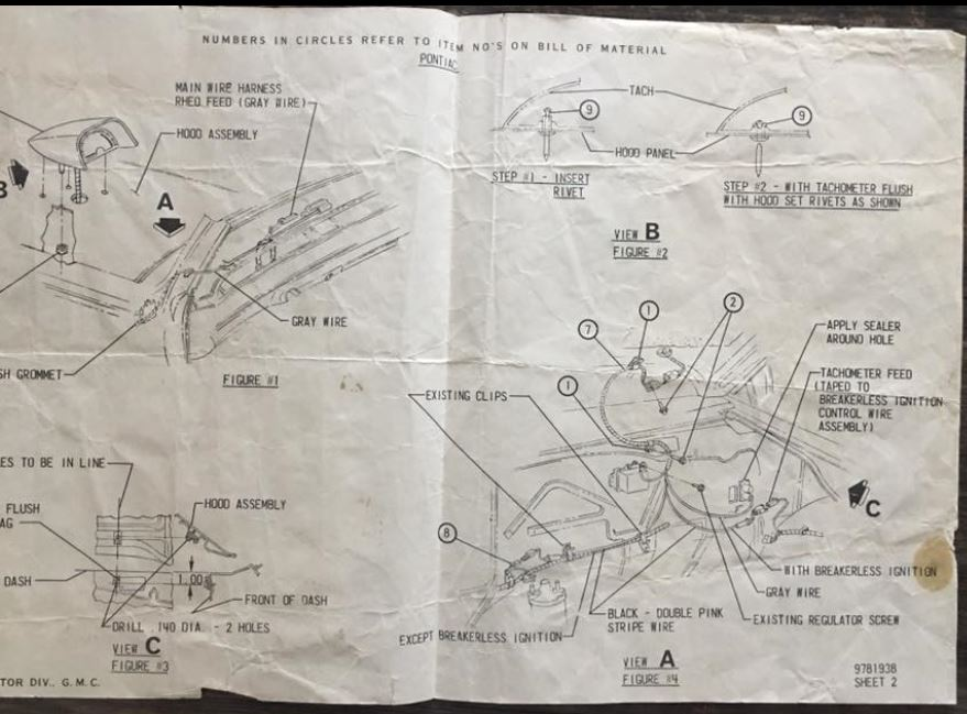 Diagram  1969 Gto Hood Tach Wiring Diagram Full Version