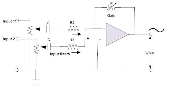 Wondrous Inverting And Non Inverting Summing Amplifier Voltage Adder Wiring Cloud Picalendutblikvittorg