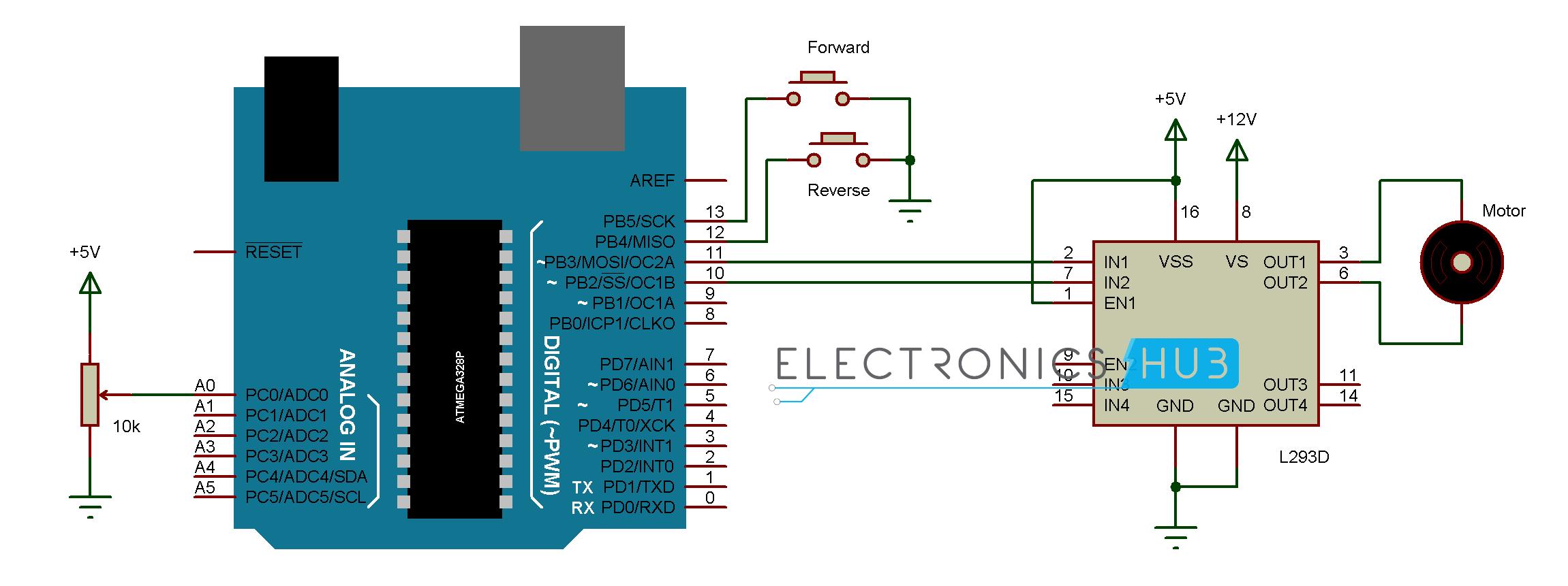 Swell Dc Motor Control With Arduino Wiring Cloud Itislusmarecoveryedborg