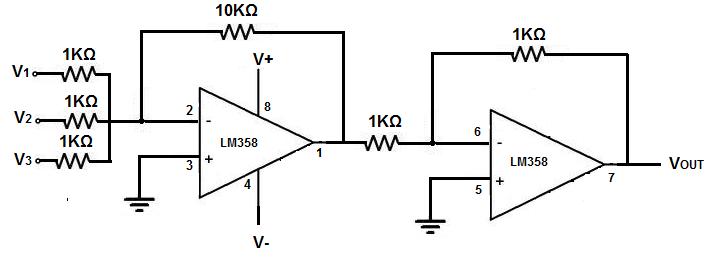 Awe Inspiring How To Build A Summing Op Amp Circuit Wiring Cloud Staixaidewilluminateatxorg