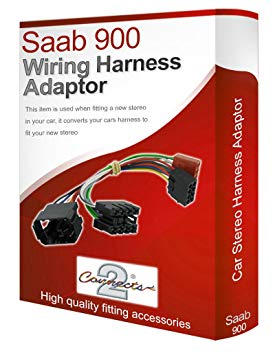 Excellent Saab 900 Cd Radio Stereo Wiring Harness Adapter Lead Amazon Co Uk Wiring Cloud Waroletkolfr09Org