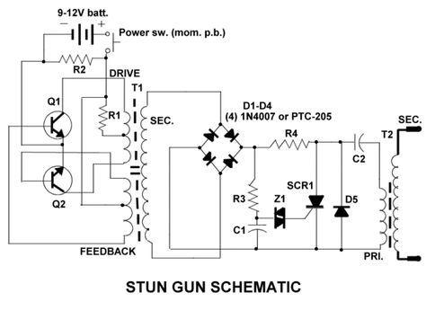 Surprising A Multivibrator Based Stun Gun Schematic Electronic In 2019 Wiring Cloud Vieworaidewilluminateatxorg