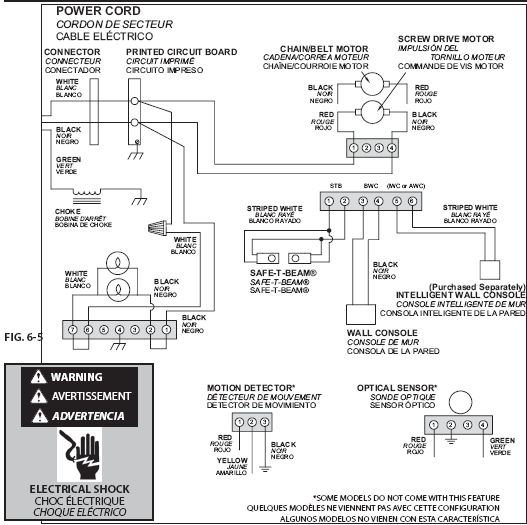 garage door sensor wiring diagram  dump trailer wiring
