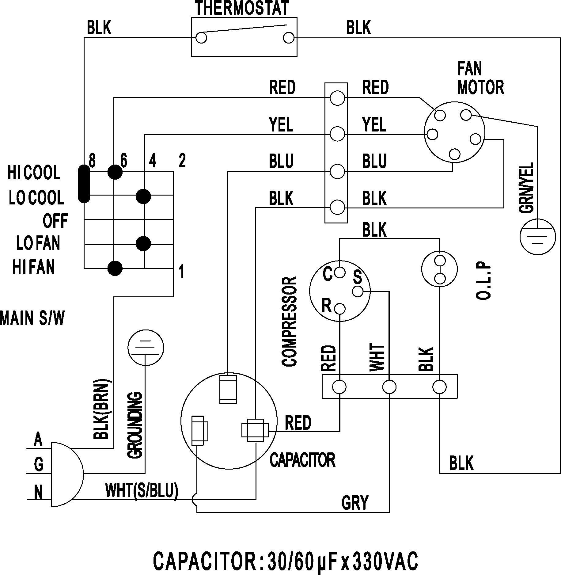 DW_4479] Wiring Information Diagram And Parts List For Samsung Roomair Free  DiagramBenkeme Gentot Mohammedshrine Librar Wiring 101