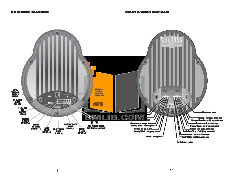 Bazooka Subwoofer Wiring Diagram