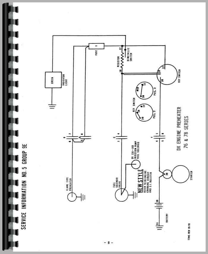 [ZHKZ_3066]  RD_1561] Deutz Allis D10006 Tractor Wiring Diagram Service Manual Htde Schematic  Wiring   Deutz Tractor Wiring Diagram Gas Gauge      Xortanet Salv Mohammedshrine Librar Wiring 101