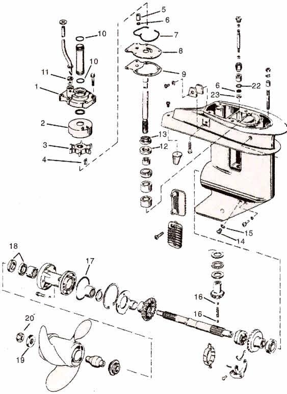 Tm 2646 35 Hp Evinrude Parts Diagrams Schematic Wiring
