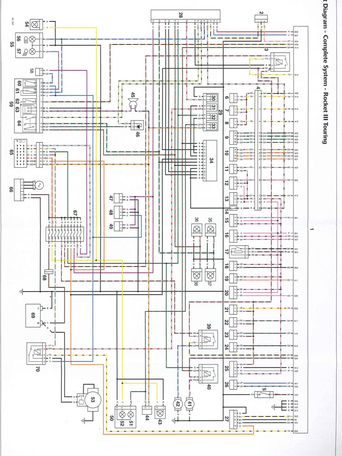 SE_7405] Thruxton Triumph Forum Triumph Rat On Wiring Diagram 2010 Triumph