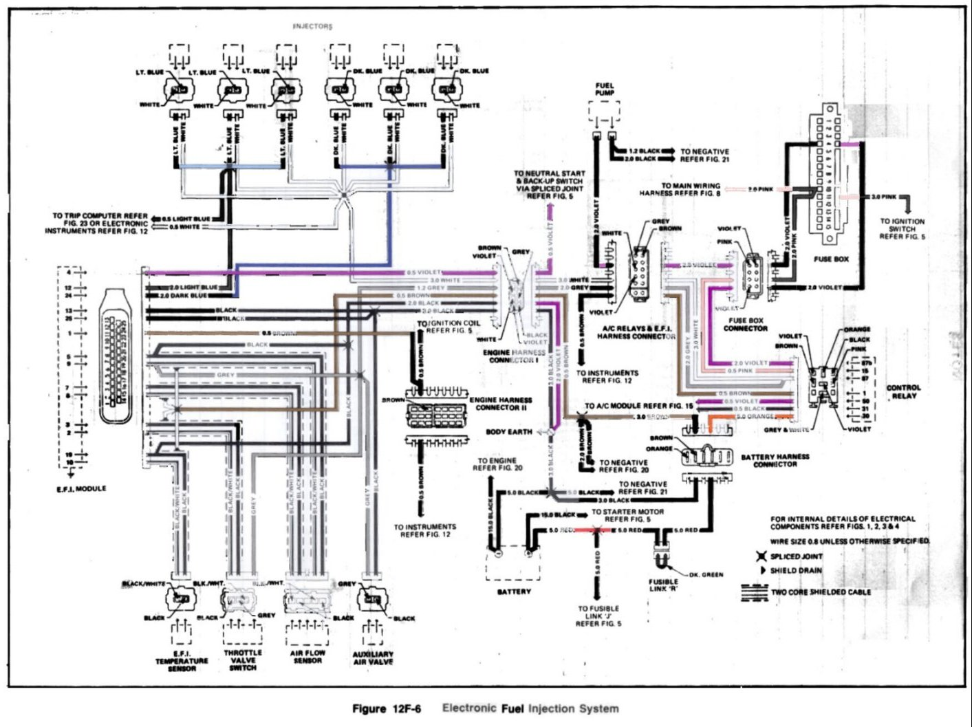 Vc Commodore Wiring Diagram