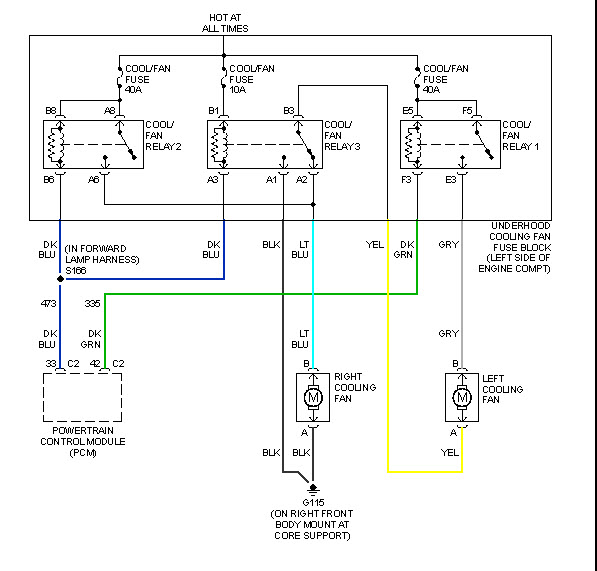 Es 5845 2011 Chevy Silverado Cooling Fan Wiring Diagram Download Diagram