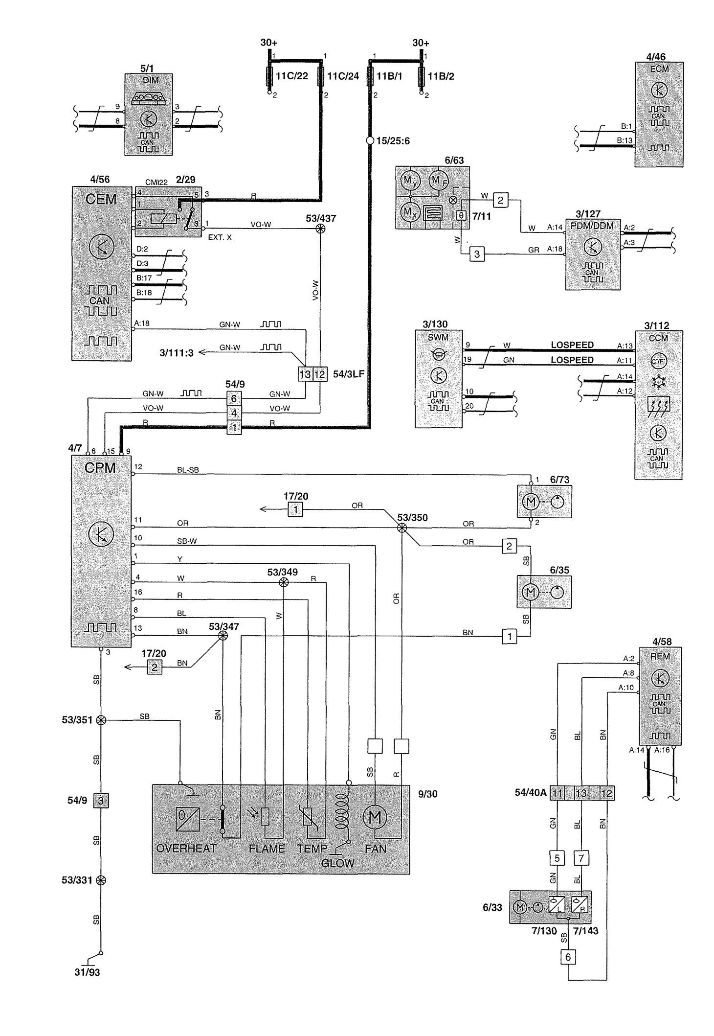 [DIAGRAM_34OR]  OFFICIAL WORKSHOP Manual Service Repair Volvo XC90 2002-2014 Wiring Diagram  gtti.gm | 2002 Volvo Wiring Diagrams |  | GTTI